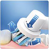 Электрическая зубная щетка Braun Oral-B Vitality 100 Cross Action, белая 01224, фото 2