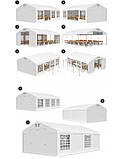 Шатер Палатка Садовая с окнами SUMMER  PVC 6 x 12m, фото 7