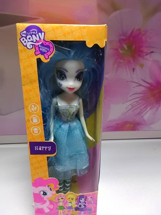 Кукла MY LITTLE PONY с голубыми волосами