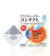 ROHTO Eyestretch Contact Расслабляющие капли для глаз при использовании контактных линз 12мл