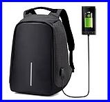 Рюкзак - Антивор Bobby Bag с USB Travel Bag 9009, фото 2