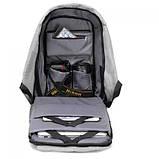 Рюкзак - Антивор Bobby Bag с USB Travel Bag 9009, фото 6