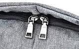 Рюкзак - Антивор Bobby Bag с USB Travel Bag 9009, фото 9