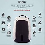 Рюкзак - Антивор Bobby Bag с USB Travel Bag 9009, фото 10