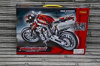 "Конструктор Decool (аналог Lego Technik) ""Мотоцикл"", 431 деталей."