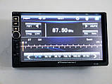 2din Магнитола Pioneer 7019 USB+SD+Bluetooth+ПУЛЬТ НА РУЛЬ (короткая база), фото 3