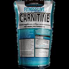 Жиросжигатель Fitness Live Carnitine 100 г, без вкуса