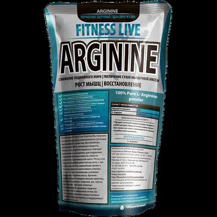 Аминокислота Fitness Live Arginine 150 г, фото 2