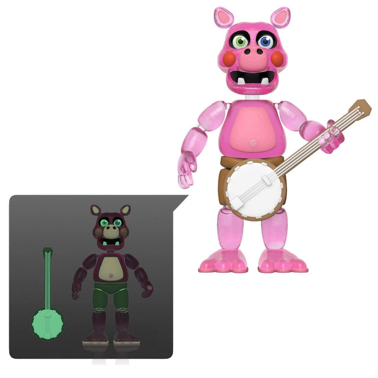 Шарнирная фигурка 5 ночей с Фредди «Светящиеся в темноте» Five Nights at Freddy's Pigpatch