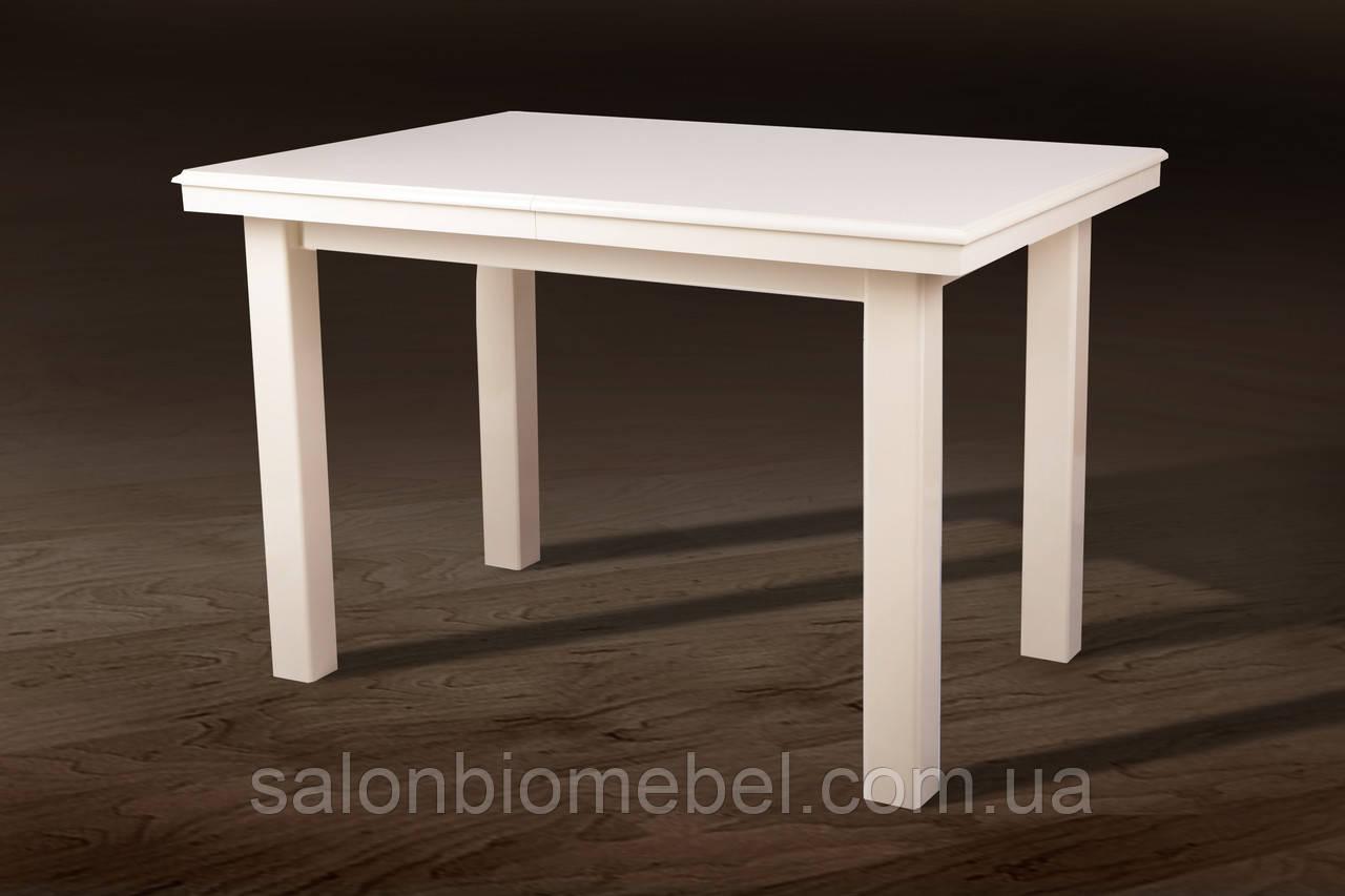 Стол обеденный Европа слоновая кость, белый