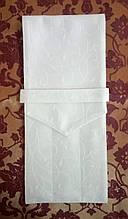 Куверт (конверт) закрытый на 3 прибора , ткань Мати  рис. 1812 шампань.