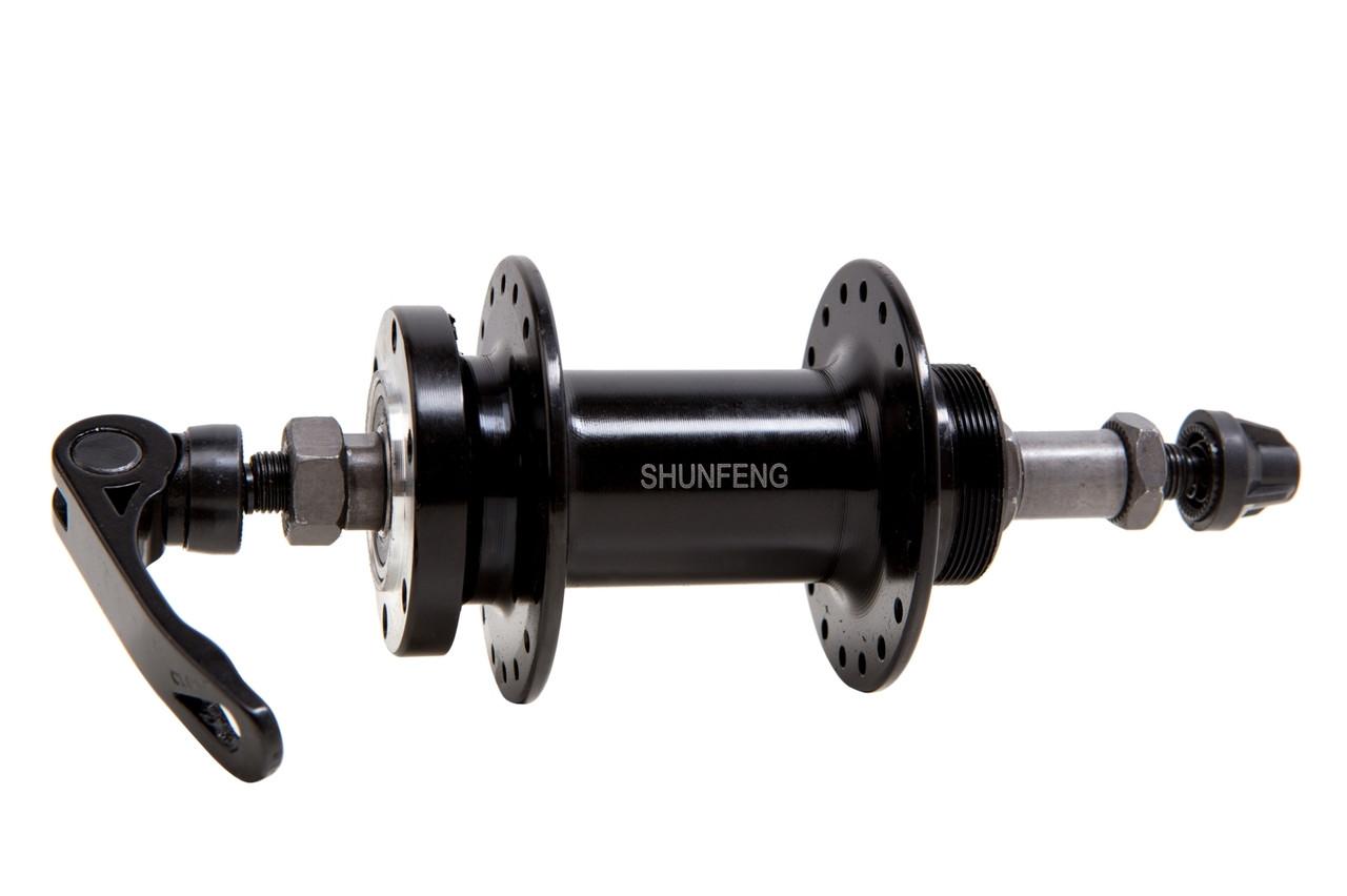 Втулка задняя SHUNFENG SF-A210R (36H) с эксцентриком,на промах