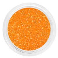 Гліттер в баночці помаранчевий
