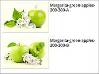 Стеклянные декоры для кухни Margarita-green-apples