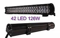 Светодиодная автофара (42 LED) 5D-126W-MIX Балка на крышу