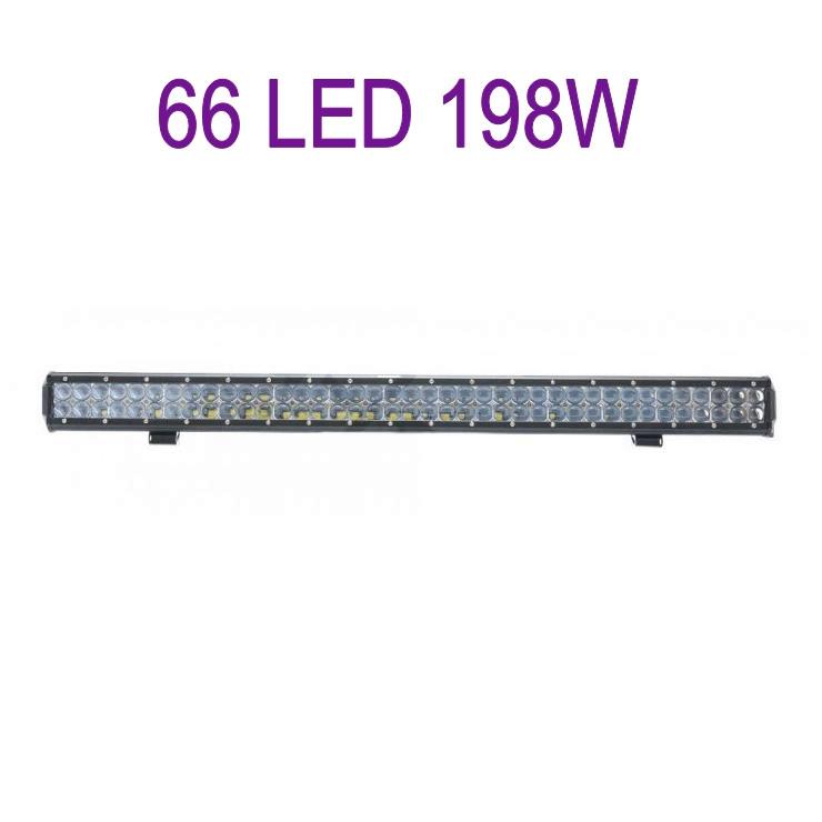 Светодиодная балка автомобильная (66 LED) 5D-198W-SPOT