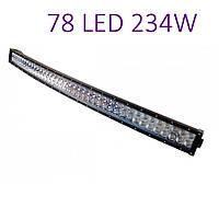 Светодиодная автофара (78 LED) 5D-234W-MIX Балка на крышу