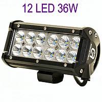 Светодиодная автофара (12 LED) 5D-36W-SPOT Балка на крышу
