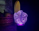 "Сменная пластина для 3D ночника ""Звезда"" 3DTOYSLAMP, фото 2"