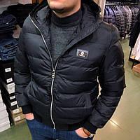 Мужская зимняя куртка Billionaire P0305 черная