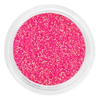 Глиттер в баночке розовый