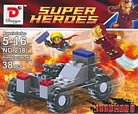 """Конструктор """"DARGO""""   218-948,  Iron Man"""