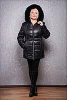 Теплая зимняя куртка, разные цвета, большие размеры, фото 1
