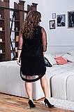Шикарное женское вечернее платье,размеры:48-50,52-54,56-58., фото 3