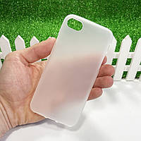 """Силіконовий матовий чохол для Apple iPhone 6 / iPhone 6S (4.7"""") (Прозрачный)"""