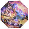 Панорамний жіночий складаний парасолька Lamberti (повний автомат) арт. 73948-4