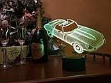"""Сменная пластина для 3D светильников """"Автомобиль 2"""" 3DTOYSLAMP, фото 2"""