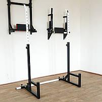 Лавка з від'ємним (кутом до 300 кг) та Стійки під штангу (до 200 кг), фото 9