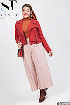 Женский стильный костюм двойка (короткий пиджак и кюлоты) /разные цвета, 42-62, ST-56994/, фото 3