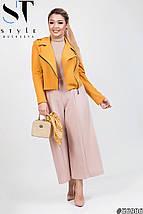 Женский стильный костюм двойка (короткий пиджак и кюлоты) /разные цвета, 42-62, ST-56994/, фото 2