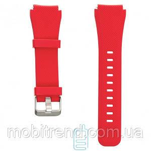 Ремешок Samsung Gear S3 Silicone Band 14, красный