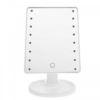 Зеркало для макияжа с LED подсветкой Large Led Mirror 16 LED Белый, фото 1