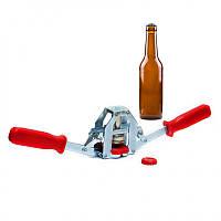 Устройство для укупорки бутылок кроненпробками