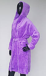 Качественный махровый халат на запах в расцветках