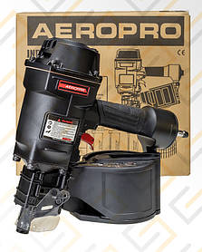 Пневматический пистолет для гвоздей барабанный нейлер (45-70;магазин 300 гвоздей) AEROPRO MCN70