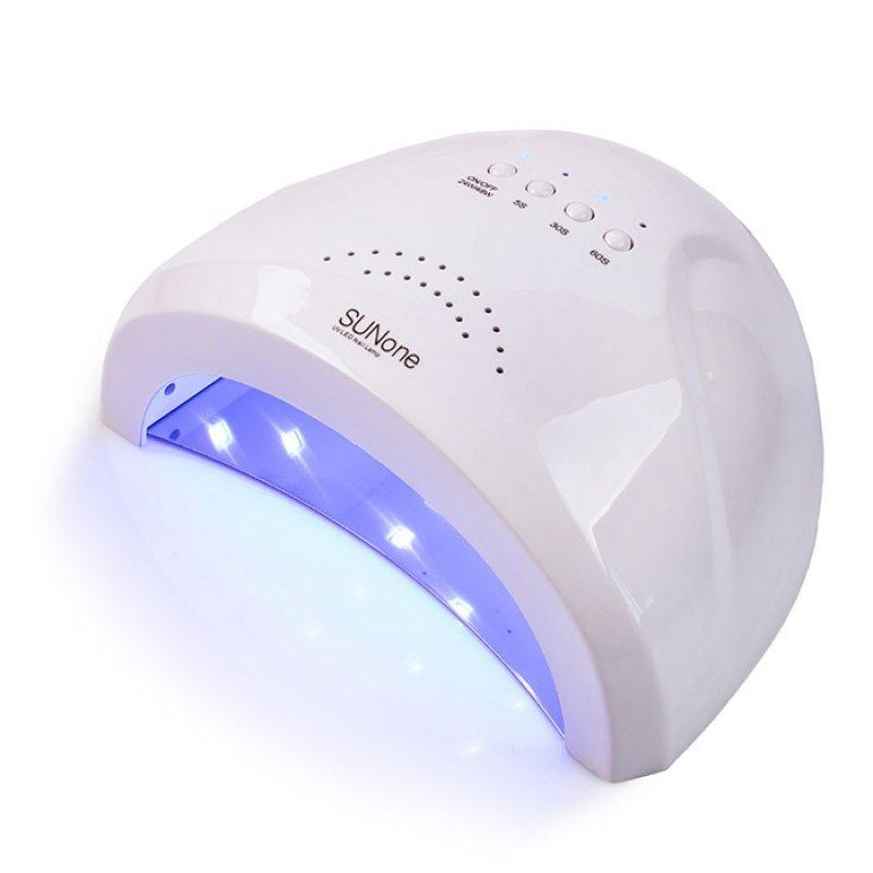 Гибридная лампа для сушки ногтей UV/LED Sun One 48W (цвет белый)