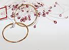 Золотые серьги-кольца Мелани, фото 3
