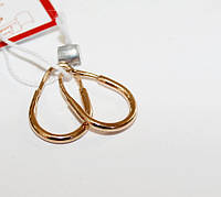 Детские сережки с красного золота Ясмина, фото 1