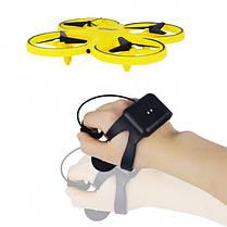Тренд 2020 года - Квадрокоптер управляемый жестами руки ( Сенсорный дрон с браслетом), фото 3