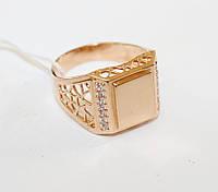 Мужской перстень в золоте Грант, фото 1