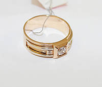 Кольцо мужское в золоте Джано, фото 1