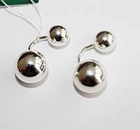 Серебряные пуссеты Крис, фото 1