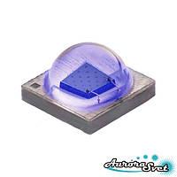 Светодиод Cree XLamp XPE. Светодиод на алюминиевой плате. Светодиод XPEBBL-L1-0000-00301.Синий светодиод