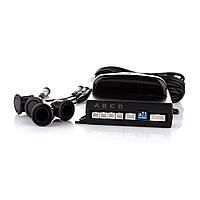 Парктроник для заднего бампера с LED-дисплеем на 4 датчика STEELMATE PTS410M1
