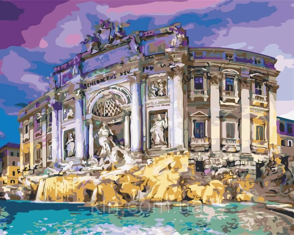 Картина по номерам ArtStory Фонтан Треви 40 х 50 см (арт. AS0532)