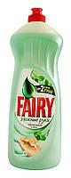 Средство для мытья посуды Fairy Нежные руки Чайное дерево и мята - 1 л.